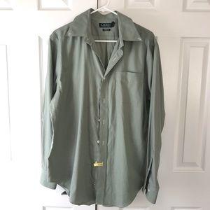 Ralph Lauren Olive Green Dress Shirt
